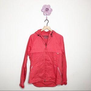 Levi's Coral Canvas Utility Zip Jacket Coat